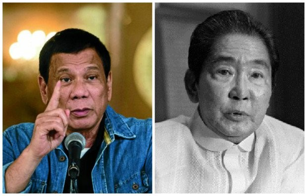 DU30 and Marcos photo