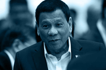 President Duterte asks U.S. to declare war on China