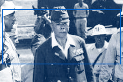 General Yamashita surrenders to American forces