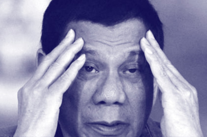 Duterte in pain; not in pink of health