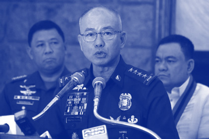 PNP files criminal charges against its former chief