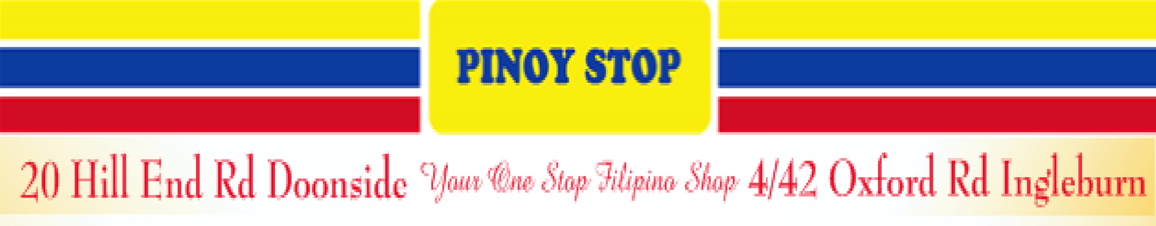Advertisement: PINOY STOP